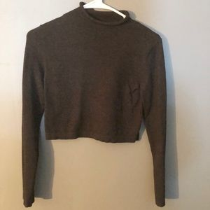 Forever 21- Turtle Neck Crop Top